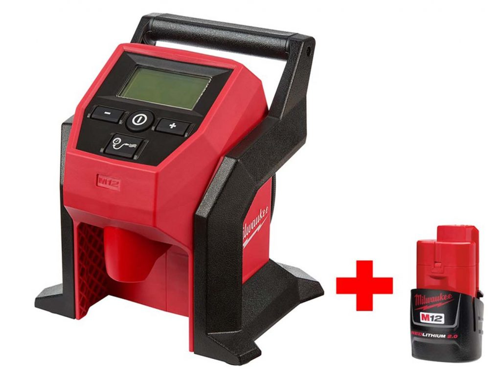 Milwaukee M12 Cordless Compact Inflator