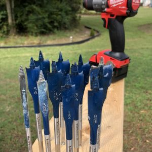 Daredevil High Carbon Steel Standard Spade Bit Set (12-Piece)