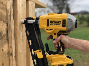 Dewalt 20-Volt MAX Lithium-Ion 21-Degree Cordless Framing Nailer