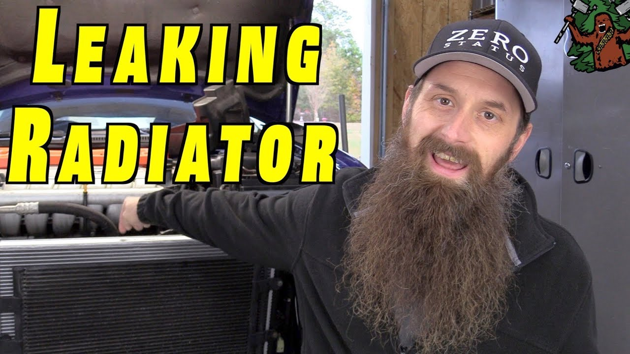 How To Replace a Radiator, and Fill Cooling System