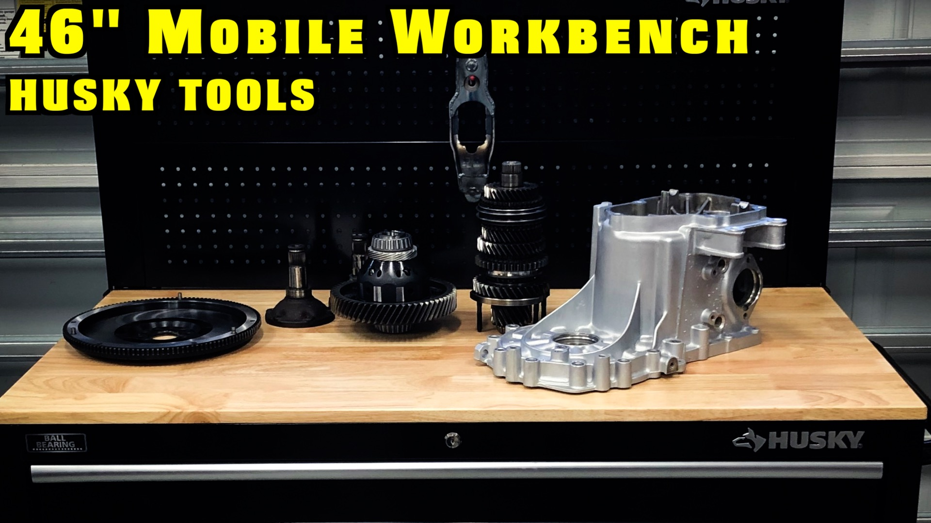 Husky Mobile Workbench
