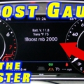 How To Add a Boost Gauge Display (MK7.5 Golf R + MQB)