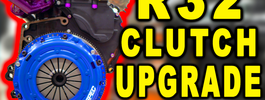 VW R32 Clutch Upgrade to Hold 500HP