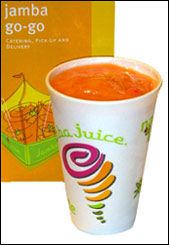 Jamba Juice Strawberry Surf Rider Smoothie