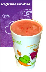 Jamba Juice Strawberry Nirvana Enlightened Smoothie