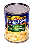Progresso 99% Fat Free White Cheddar Potato Chowder