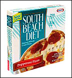 South Beach Diet Pepperoni Pizza with Harvest Wheat Crust