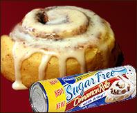 Pillsbury Sugar Free Cinnamon Rolls