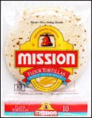 Mission Tortillas Soft Taco Size Tortilla