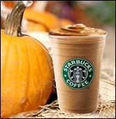 Starbucks Pumpkin Spice Frappuccino Light