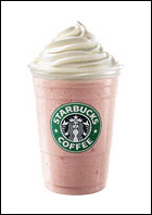 Starbucks Strawberries & Creme Frappuccino Blended Creme