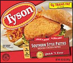 Tyson Southern Style Breast Patties