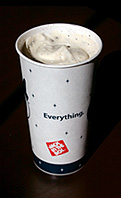 Jack in the Box Oreo Cookie Ice Cream Shake