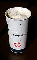 Jack in the Box Oreo Cookie Ice Cream Shake