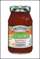 Smucker's Sugar Free Strawberry Preserves