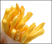 Fast Food French Fries, Average Medium Order