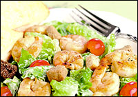 Chili's Lime-Grilled Shrimp Caesar Salad