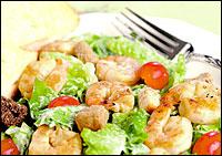Chili's Lime-Grilled Shrimp Caesar Salad