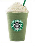 Starbucks Tazo Green Tea Frappuccino Blended Crème with Melon Syrup