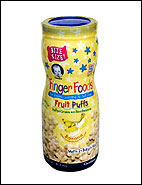 Gerber Finger Foods Fruit Puffs, Banana