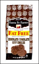 Santa Fe Farms Fat-Free Chocolate Chocolate Chip Cookies