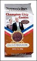 Newman's Own Champion Chip Cookies, Choc. Choc. Chip
