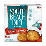 South Beach Peanut Butter Cookies Calories