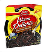 Betty Crocker Warm Delights, Hot Fudge Brownie