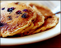 HG's Very Blueberry Pancakes
