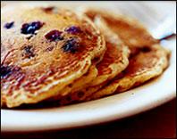 HG's Very Blueberry Pancakes