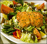 Slimmed-Down Salads at The Cheesecake!
