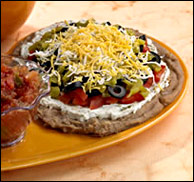 Traditional 7-Layer Dip