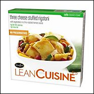 Lean Cuisine's Three Cheese Stuffed Rigatoni
