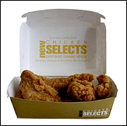 McDonald's Chicken Selects Premium Breast Strips