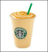 Starbucks Orange Crème Frappuccino Light Blended Crème