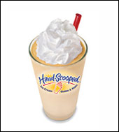Carl's Jr. OrangeSicle Hand-Scooped Ice Cream Shake