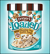 Dreyer's/Edy's Loaded Nestlé® Toll House® Chocolate Chip Cookie Dough Frozen Dairy Dessert