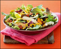 McDonald's Southwest Salad w/Grilled Chicken