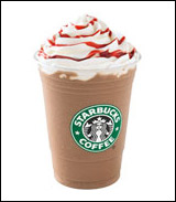 Starbucks Raspberry Mocha Frappuccino Blended Coffee