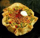 The Dreaded Tortilla Bowl... Ay Caramba!