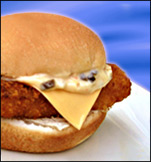 HG's A-OK Fish Filet Sandwich