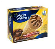 Weight Watchers Giant Chocolate Fudge Sundae Cone