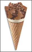 Nestlé Supreme Triple Chocolate Drumstick