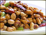 Average Restaurant Kung Pao Chicken