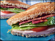 HG's Toasty Turkey Club