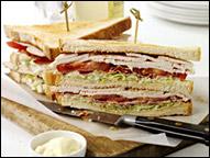 Turkey Club Sandwich, Average