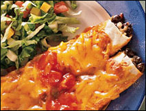 Bean and Cheese Enchiladas, Average