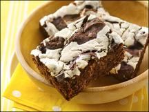 HG's Swirls Gone Wild Cheesecake Brownies
