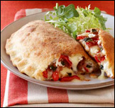 Sausage Calzone, Average