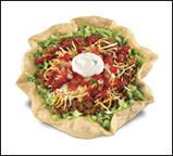 Average Taco Salad w/Shell